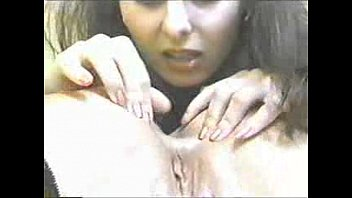 Interracial Lesbian Rimming - girl Erica makes her slave to lick and suck