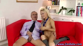Older guy fucks hot younger girl